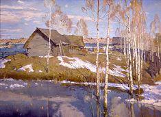 ГрибановаА.А. Весна. Х.,м. 129х179.