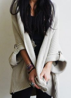 Oversized Knit Sweaters Tumblr Oversized Knit Sweater