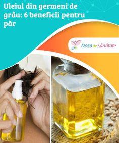 #Uleiul din germeni de grâu: 6 #beneficii pentru păr  #Chiar dacă are o textură uleioasă, uleiul din germeni de grâu nu îți îngrașă părul, ci îl hrănește în #profunzime. Află mai multe despre beneficiile sale minunate din articolul de azi!