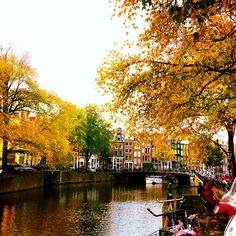 Amsterdam in Fall