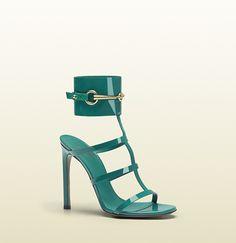 GUCCI ursula ankle-strap high heel sandal $850