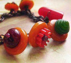 Art Deco Village Bakelite Bracelet