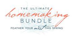 Ultimate Homemaking Bundle Giveaway!