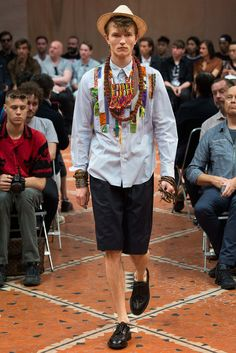 Junya Watanabe Spring 2016 Menswear - Collection - Gallery - Style.com