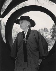 Bruce Weber, Georgia O'Keeffe, Santa Fe, 1984
