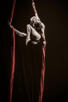 Love this picture (aerialist Vicky Aisha Blackthorn)
