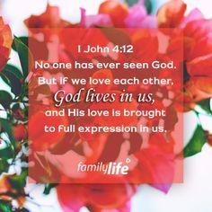 1John 4:12