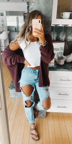 casual outfits for school & casual outfits ; casual outfits for winter ; casual outfits for work ; casual outfits for women ; casual outfits for school ; Casual School Outfits, Cute Comfy Outfits, Cute Summer Outfits, Teen Fashion Outfits, Casual Winter Outfits, Hijab Casual, Spring Outfits For School, Cute Outfits With Jeans, Cute Outfit Ideas For School