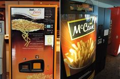The World's 24 Oddest Vending Machines — #11 French Fries