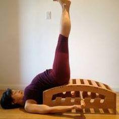 Viparita Karani Iyengar Yoga, Asana, Aerial Yoga, Stretching, Studios, Bench, Gym, Stretches, Cooking