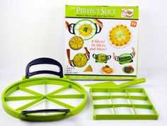The Perfect Slice Kitchen Hacks, Kitchen Gadgets, Kitchen Appliances, Best Vegetable Spiralizer, Pie Cutter, Spiral Vegetable Slicer, Cake Slicer, Food Items, Cupcake Cakes