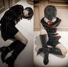 Black Butler, Just Amazing, Punk, Boots, Pretty, People, Anime Cosplay, Clothes, Perspective