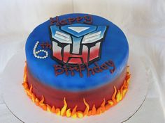 Transformers cake!