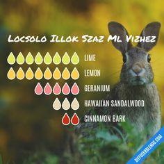 Locsolo Illok Szaz Ml Vizhez - Essential Oil Diffuser Blend