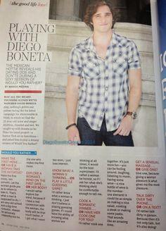 "Diego Boneta en ""Latina"" Magazine - May 2014"