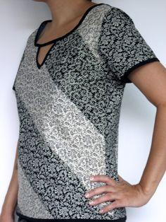 Blusa Fachadas - patchwork