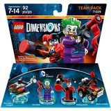 WB Games - Lego Dimensions Team Pack (DC Comics: The Joker & Harley Quinn)