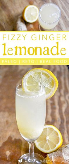 During a hot summer day, there's nothing quite as refreshing as a cool glass of lemonade.Relax and recharge with this delicious, health-infused paleo and keto-friendlyFizzy Ginger Lemonade.