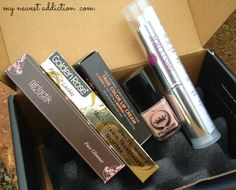 Wantable Makeup Box for March 2014 via @Laura Gallaway #beauty #makeup #wantable #subscriptionbox #review