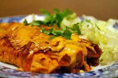 Mom's Chicken Enchiladas Recipe | Simply Recipes