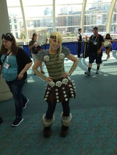 Another angle of Astrid (How to Train Your Dragon) #sdcc