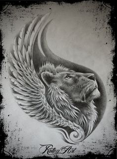 Lion1 by dmrotten on @DeviantArt
