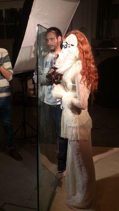 Fotografía realizada en el Shooting de Rebeca Saray en Madrid 08/11/2014