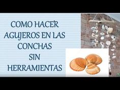 Sea Crafts, Shells, Diy, Lettering, Colors, Beach, Youtube, Crafts To Make, Seashell Crafts