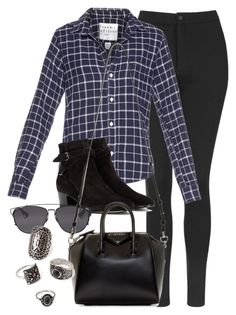 """""""Style #9931"""" by vany-alvarado ❤ liked on Polyvore featuring Topshop, Frank & Eileen, Yves Saint Laurent, Christian Dior, Givenchy and Forever 21"""