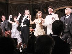 Renee Fleming and the cast of LIVING ON LOVE