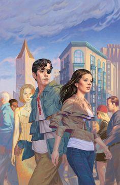Buffy the Vampire Slayer Season 10 - Cover by Steve Morris Geek Culture, Pop Culture, Steve Morris, Chibi, Comic Art, Comic Books, Midtown Comics, Buffy Summers, Joss Whedon