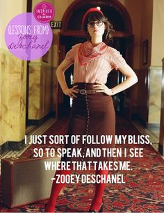 Lessons From: Zooey Deschanel   Inspired by Charm