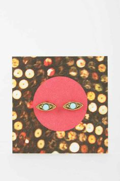 Open Your Eyes Gift Card Earring - Urban Outfitters
