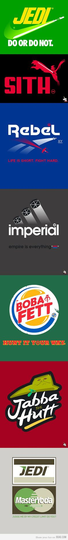 If our universe was the Star Wars universe.
