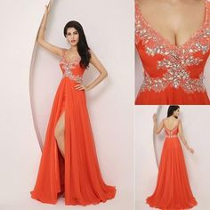 This dress could be custom made, there are no extra cost to do custom size and color.  Description  1, Material: elastic silk like satin,Lace,Chiffon  2, Color: picture color or other colors, there are 126 colors are available, please contact us for more colors,  3, Size: standard size or ...