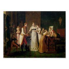 Marie-Louise Áustria que oferece o adeus ela Pôsteres