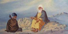 Guru Nanak Ji, Nanak Dev Ji, Religious Photos, Religious Art, Sikh Quotes, Gurbani Quotes, Punjabi Quotes, Guru Nanak Teachings, Guru Nanak Wallpaper