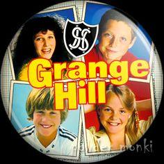 Retro Kids TV Badge/Magnet - Grange Hill 1984 ~ www.powdermonki.co.uk ~