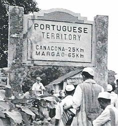 Portuguese India frontier - late 1950's