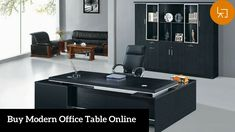 Contemporary office furniture - Contemporary furniture discount office has been in vogue, especially just because it serves the dual function of appeal and Cool Office Desk, White Desk Office, Office Table, Office Furniture Design, Home Office Design, Office Designs, Office Ideas, Office Decor, Executive Office Desk