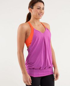 The original pinner says she's going to put $2 aside for each workout she does, then reward herself with this $58 top.  Great idea!