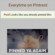 OMG YASSSS IM LIKE WELL I DID PIN THAT A WHILE BACK SOOOO PINNED YA AGAIN.... hahaah this is like my 100000000th time pinnning this hahaaa
