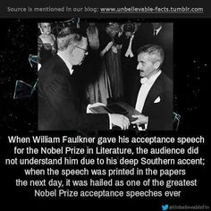 Interesting Facts About Humans, Real Life Heros, Nobel Prize In Literature, Unbelievable Facts, Amazing Facts, Facts You Didnt Know, Acceptance Speech, Brother Quotes, Cute Stories