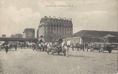 Panorama de Portes de Paris, fortifications et enceinte de Thiers : porte de la Vilette