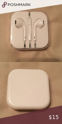 Apple Earphones, Pretty Iphone Cases, Headphones, Wire, Brand New, Accessories, Headpieces, Ear Phones, Jewelry Accessories