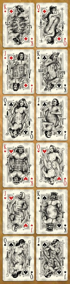 #design_decks | Physique Playing Cards printed by USPCC