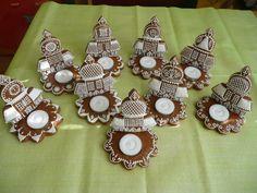 svícny - kostelíčky