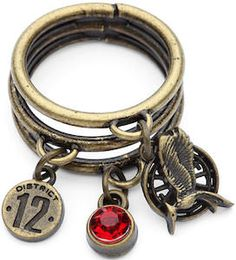 The Hunger Games Charm Ring