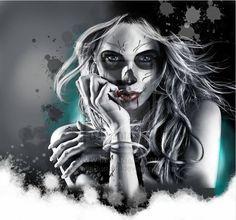 Day of the dead by ~StaceBurt-Art on deviantART