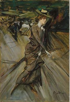 The Athenaeum - La passeggiata (Giovanni Boldini - ) Giovanni Boldini, Italian Painters, Italian Artist, John Singer Sargent, Edgar Degas, Historical Art, Art Academy, Impressionist Paintings, Vintage Artwork
